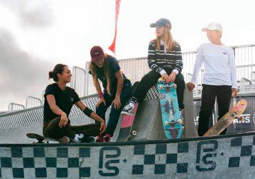 Vans Vanguards chicas en el skateboarding